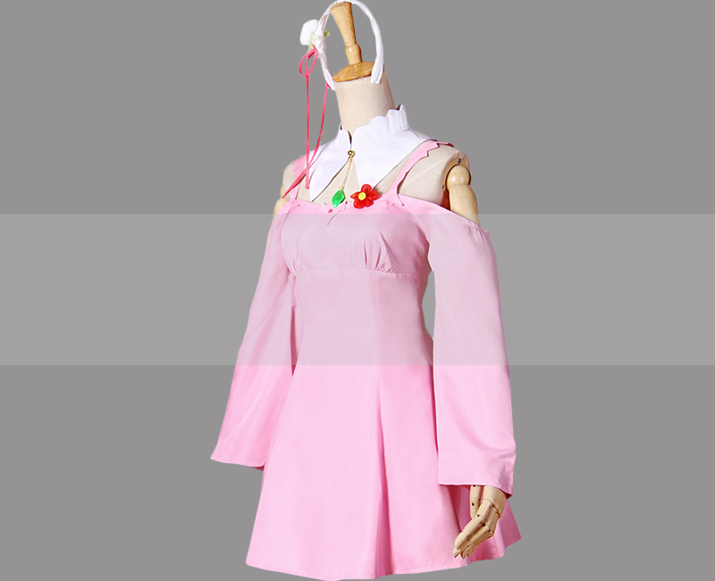 Re Zero Emilia Cosplay Casual Dress Outfit Buy