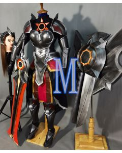 LOL League of Legends Solar Eclipse Leona Costume Cosplay Armor