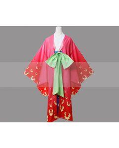 One Piece Kozuki Hiyori Kimono Cosplay Costume