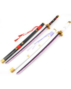 One Piece Kozuki Oden Swords Enma and Ame no Habakiri Cosplay Props