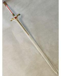 SAO Alicization Asuna Goddess of Creation Stacia Sword Radiant Light Cosplay Prop