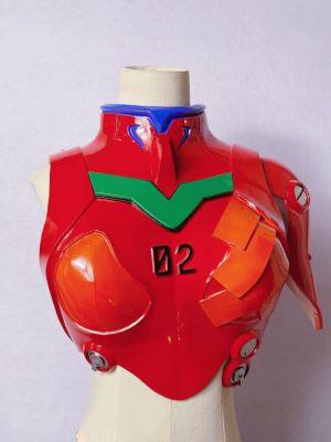 Neon Genesis Evangelion Asuka Shikinami Langley Plugsuit Cosplay Armor