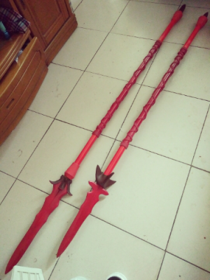 Fate/Grand Order Lancer Scathach Spears Gae Bolg Alternative Cosplay Replica Prop Buy