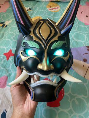 Genshin Impact Xiao Cosplay Yaksha Mask