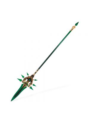 Genshin Impact Xiao Weapon Primordial Jade Winged-Spear Cosplay Prop Buy