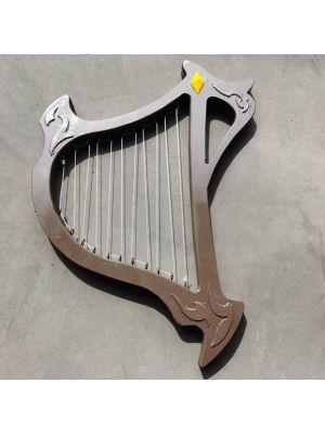 Hypnosis Mic: Division Rap Battle Gentaro Yumeno SR Card LyreLiar Harp Cosplay Prop