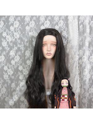 Kimetsu no Yaiba Nezuko Kamado Wig Cosplay for Sale