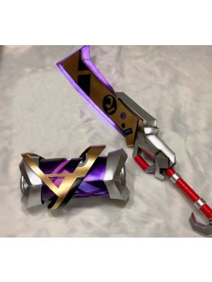 LOL True Damage Ekko Weapon Cosplay Replica Prop