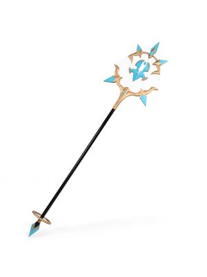 Lord of Heroes Mage of the Empire Cesaire Staff Cosplay Prop