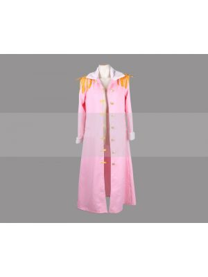 One Piece Captain Tashigi Marine Cape Cosplay Costume
