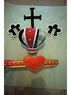 One Piece Ghost Princess Perona Crown Belt Cosplay Props
