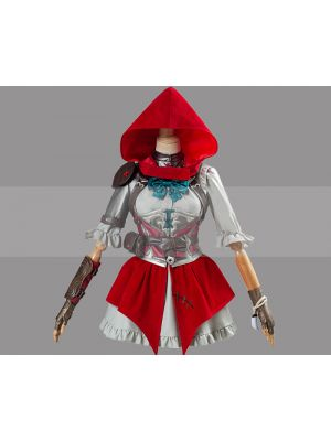 Customize Overwatch Little Red Ashe Skin Cosplay Costume for Sale
