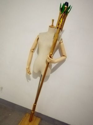 Overwatch Mercy Winged Victory Skin Cosplay Replica Caduceus Staff for Sale
