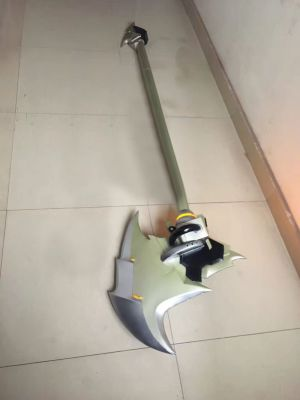 Overwatch Reinhardt Blackhardt Skin Cosplay Replica Weapon for Sale
