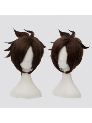Overwatch Tracer Cosplay Wig for Sale