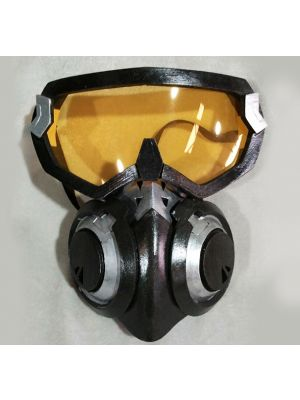 Overwatch Lena Oxton Tracer Skin Graffiti Cosplay Mask Goggles for Sale