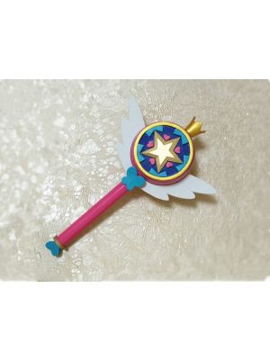 Star vs. the Forces of Evil Star Butterfly Royal Magic Wand Cosplay Prop