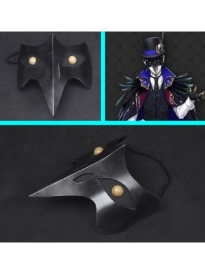 Twisted Wonderland Dire Crowley Raven Mask Cosplay for Sale