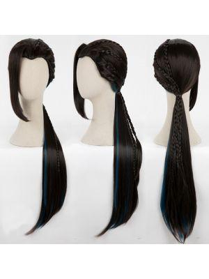Twisted Wonderland Scarabia Jamil Viper Cosplay Wig