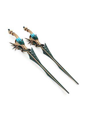 YsIX: Monstrum Nox Credo Aiblinger Hawk Weapon Ariosto Cosplay Twin Swords