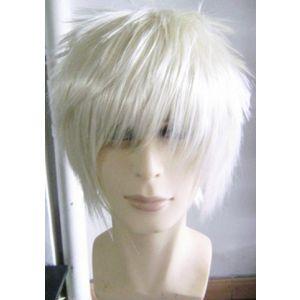 Bleach Gin Ichimaru Cosplay Wig