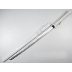 Bleach White Tensa Zangetsu Cosplay Replica