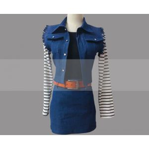 Customize Dragon Ball Z Android 18 Cosplay Costume Buy