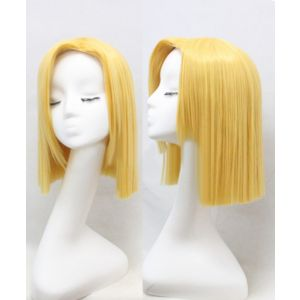Dragon Ball Z Android 18 Cosplay Wig for Sale