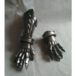 Fate/Grand Order Archer Atalanta Cosplay Gauntlets Hand Armor Gloves