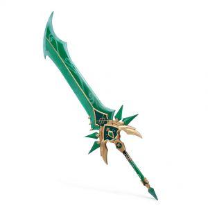 Genshin Impact Weapon Claymore Primordial Jade Greatsword Cosplay Prop