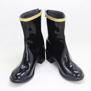 Customize Hypnosis Mic: Division Rap Battle Nemu Aohitsugi Cosplay Boots for Sale