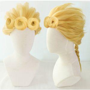 JoJo's Bizarre Adventure: Golden Wind Giorno Giovanna Cosplay Wig for Sale