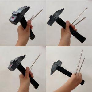 Jujutsu Kaisen Nobara Kugisaki Weapon Hammer Nails Cosplay Prop