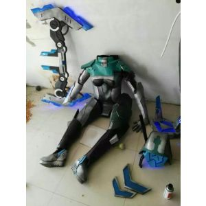 LOL PROJECT: Ashe Skin Cosplay Armor Weapon