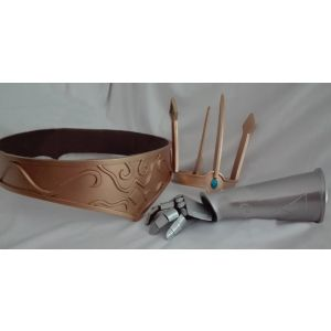 LOL Queen Ashe Cosplay Arm Armor Crown for Sale