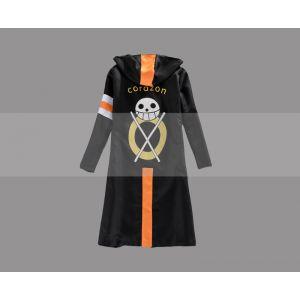 One Piece Trafalgar Law Cosplay Corazon Coat