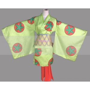 One Piece Wano Country Arc Carrot Kimono Cosplay for Sale