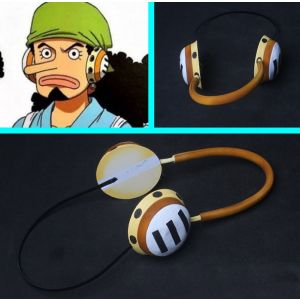 One Piece Wano Country Arc Usopp Headphones Cosplay for Sale