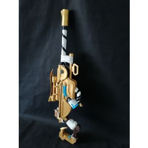 Overwatch Ana Skin Snow Owl Golden Biotic Rifle Cosplay Replica Gun Prop Buy