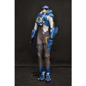 Customize Overwatch Cadet Oxton Tracer Cosplay Costume Armor for Sale