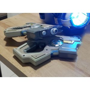 Overwatch Cadet Oxton Tracer Weapon Pulse Pistols Cosplay Replica Props Buy