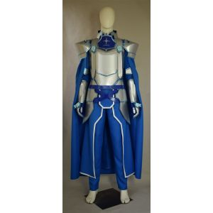 Customize Sword Art Online Alicization Eugeo Integrity Knight Cosplay Costume for Sale