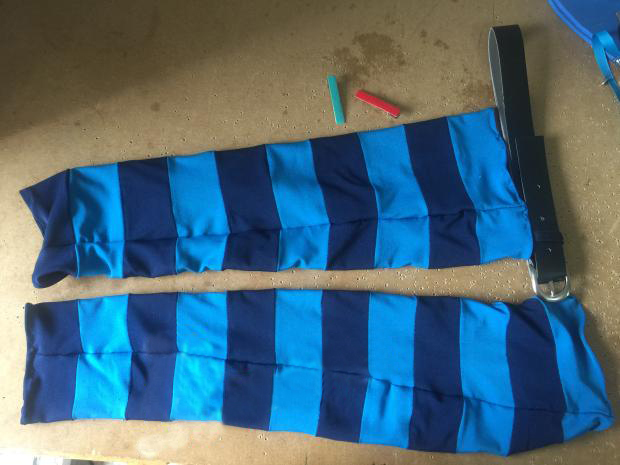 Elsword Lu Chiliarch Cosplay Socks