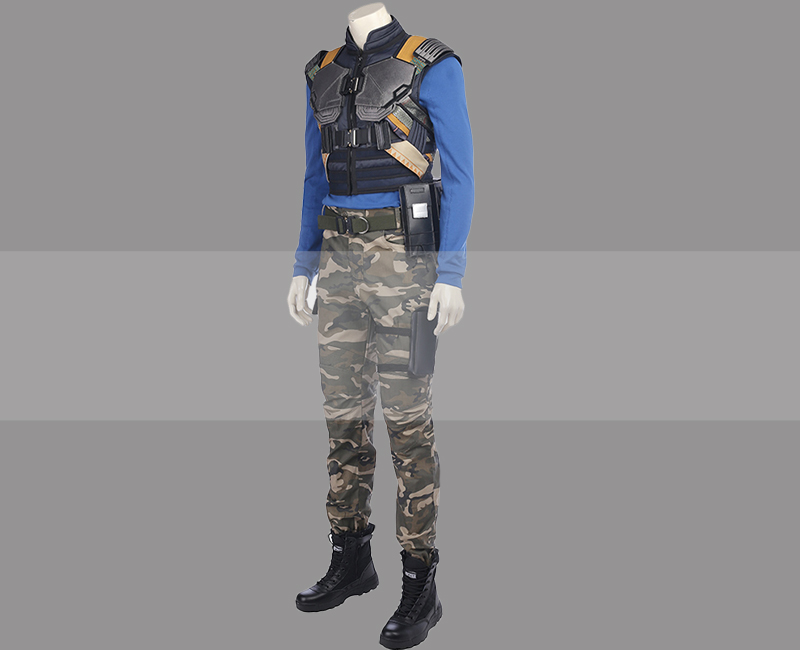 MCU Black Panther Erik Killmonger Cosplay Costume