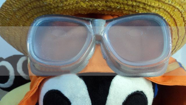Luffy Strong World Goggles