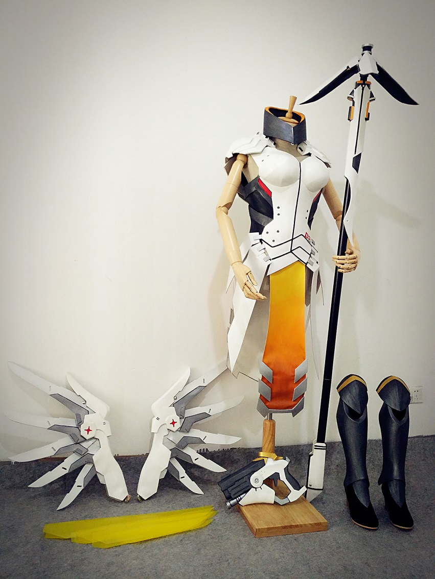 Overwatch Mercy Cosplay Armor Buy