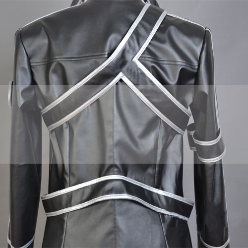 Sword Art Online Kirito Cosplay Leather Trench Coat