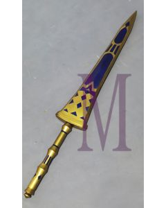 Fate/Grand Order Saber Dioscuri Castor/Pollux Sword Discus Cosplay Prop