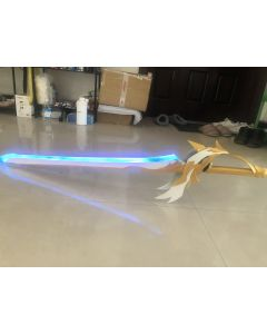 Genshin Impact Weapon Sword Aquila Favonia 2nd Ascension Phase Cosplay Prop