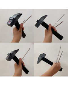 Jujutsu Kaisen Nobara Kugisaki Weapon Hammer Nails Cosplay Prop